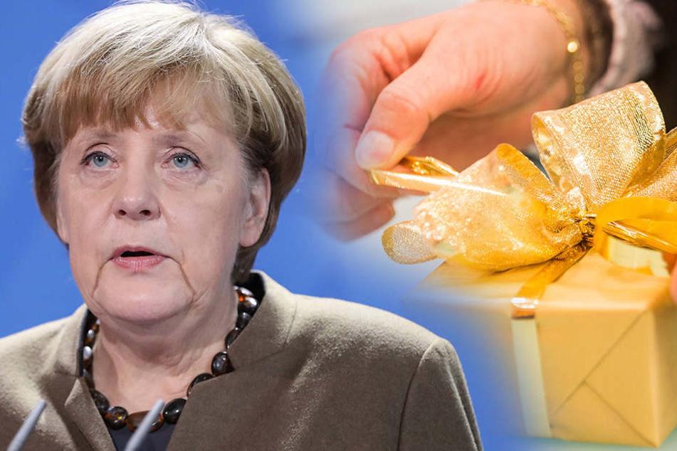 Kanzlerin Angela Merkel (62, CDU).