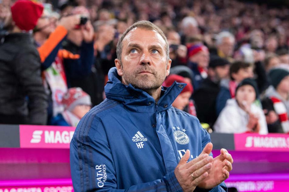 Hansi Flick hat seine Spiele mit Bravur gemeistert. Kommt er als fester Bayern-Trainer in Frage?