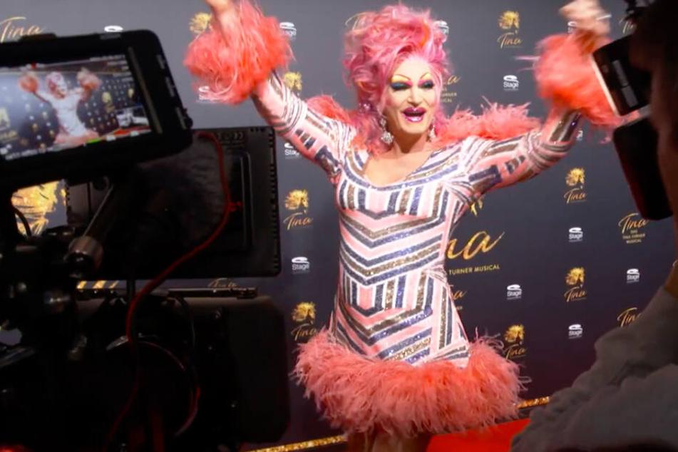 Drag-Queen Olivia Jones war ebenfalls von der Show begeistert.