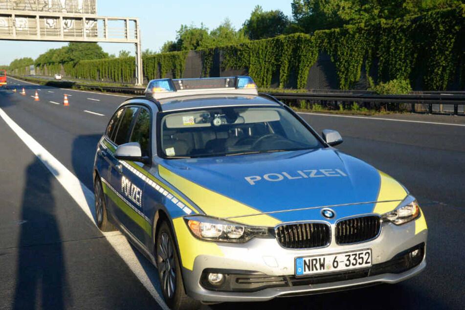Die Polizei war am Sonntagmorgen im Dauereinsatz auf den Autobahnen in OWL.