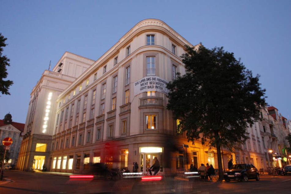 Unter anderem im Schauspiel Leipzig fanden in der ganzen Woche etliche Tanz-, Performance- und Theateraufführungen statt.