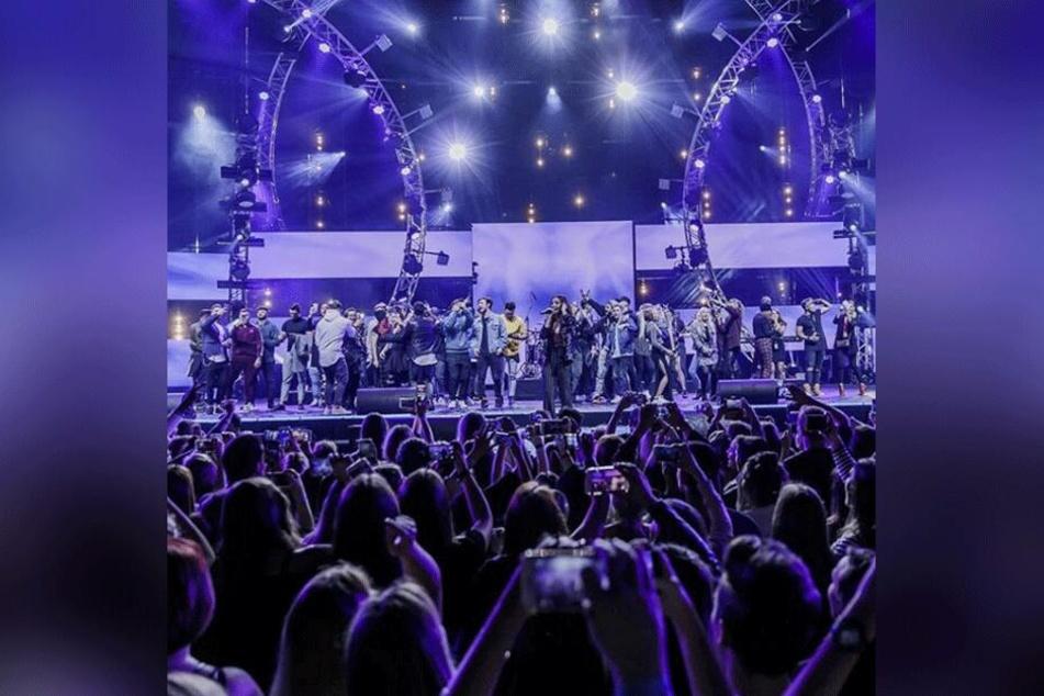 """RTL II veranstaltet """"The Dome"""" am 31. Oktober 2019 in der Lanxess Arena Köln."""