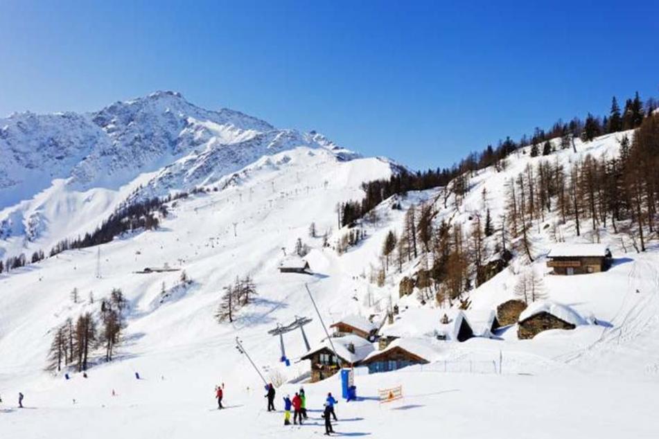 Die Ski-Region Cervinia ist bei Winterurlaubern sehr beliebt. 130 von ihnen erlebten am Samstag einen echten Alptraum.