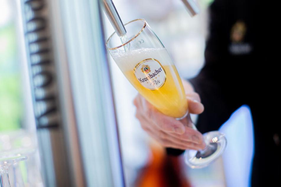 Der Bierabsatz von Krombacher sank 2019 um 0,1 Prozent.