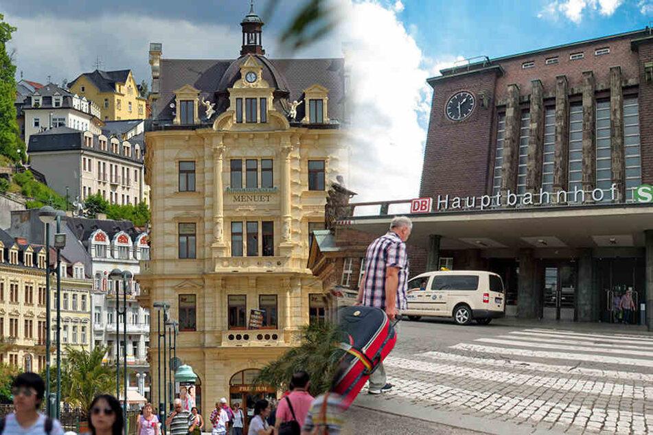 Bislang Mit Wenig Erfolg Express Zug Nach Karlsbad