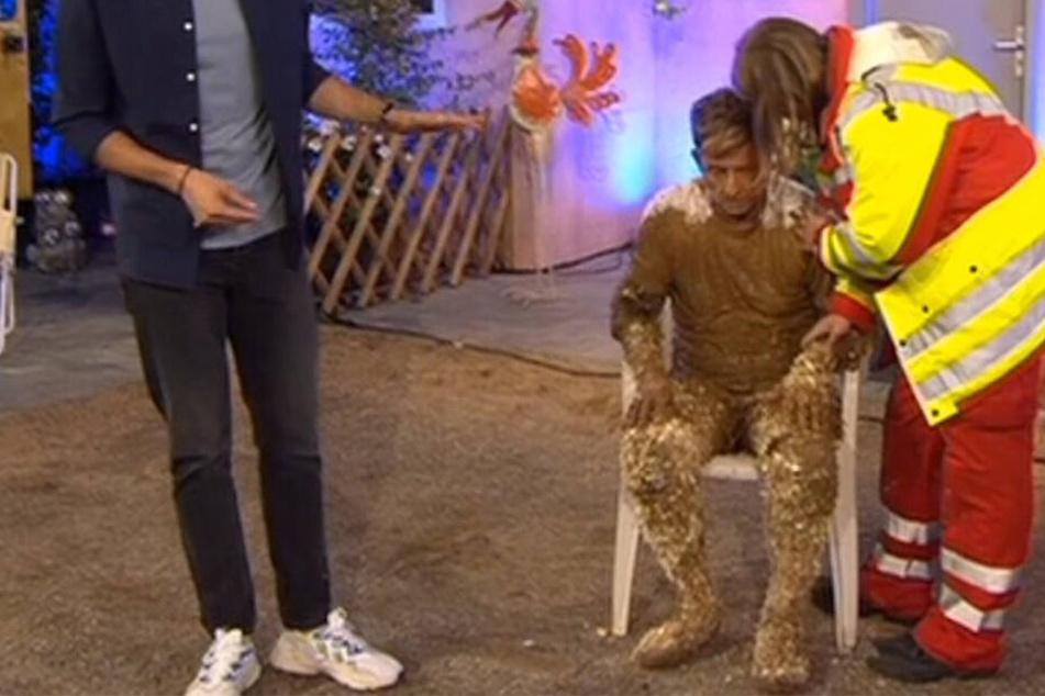 """Notarzt-Einsatz bei """"Promi Big Brother"""": Almklausi bricht live zusammen"""