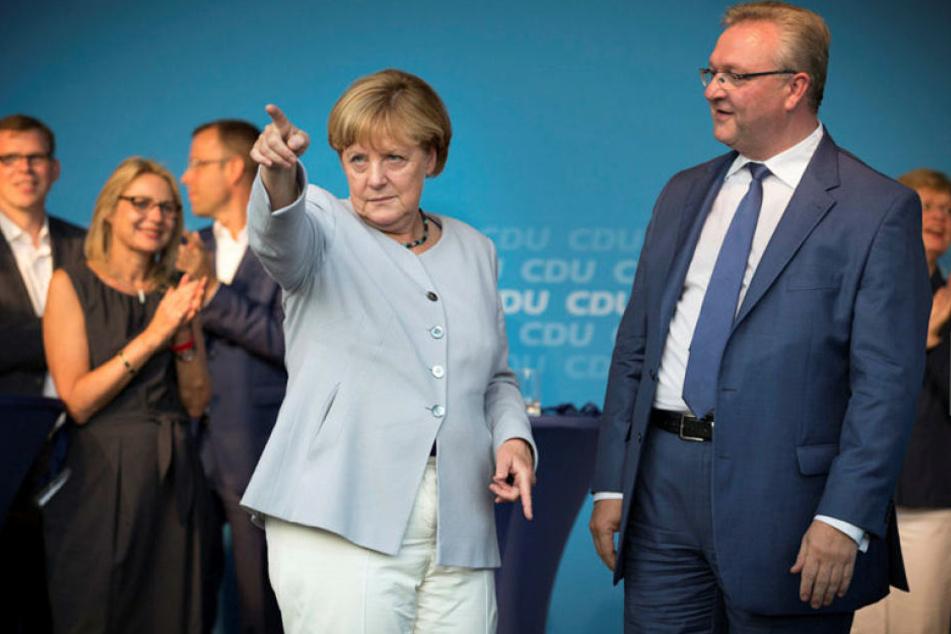 Bundeskanzlerin Angela Merkel verliert mit der CDU weiter an Popularität.