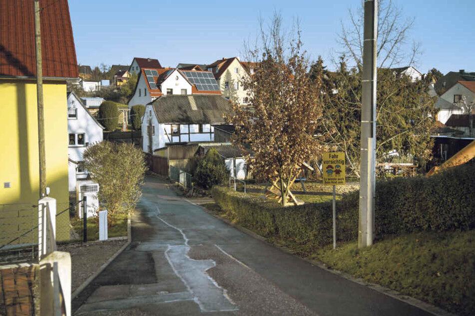In Braunsdorf trägt noch etwa jede zweite Straße ihren typisch sozialistischen Namen aus DDR-Zeiten.