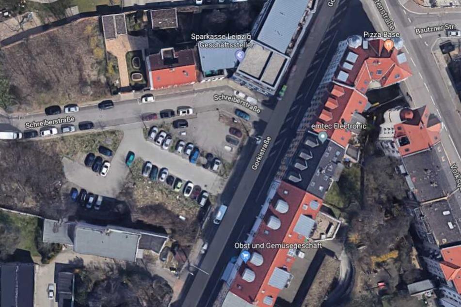 Der Fang gelang ihnen auf einem Parkplatz an der Schreiberstraße.