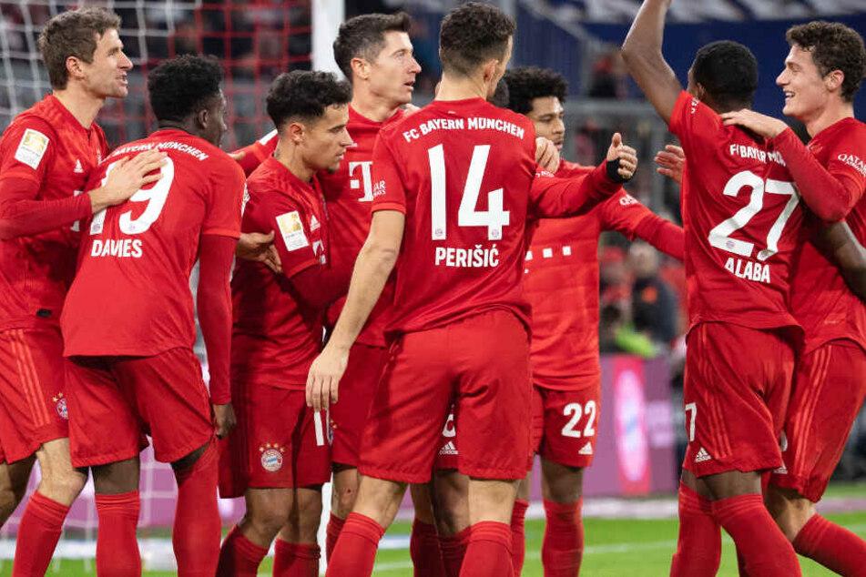 Der FC Bayern München konnte Werder Bremen aus der Allianz Arena fegen.