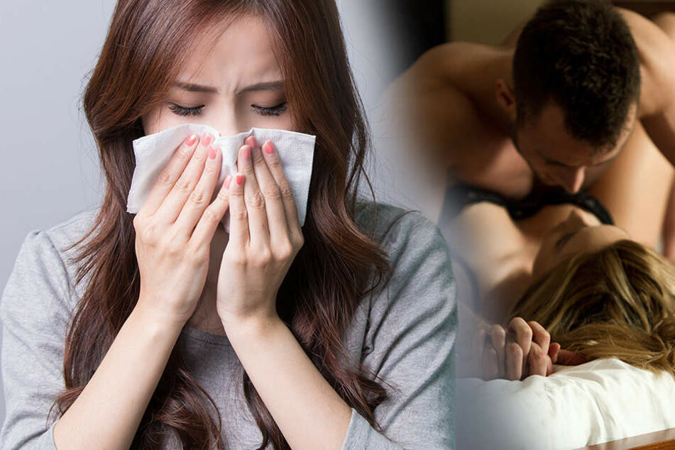 Vor dem Sex Nase putzen, könnte sich positiv auf das Schäferstündchen auswirken.