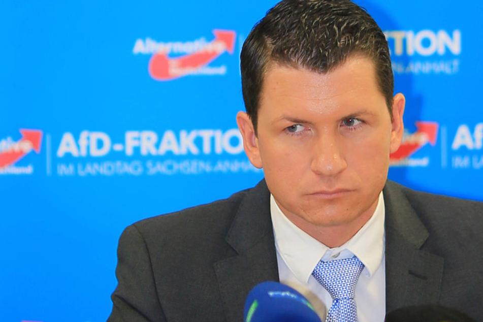 Die Staatsanwaltschaft Erfurt ermittelt gegen den AfD-Abgeordneten Matthias Büttner.