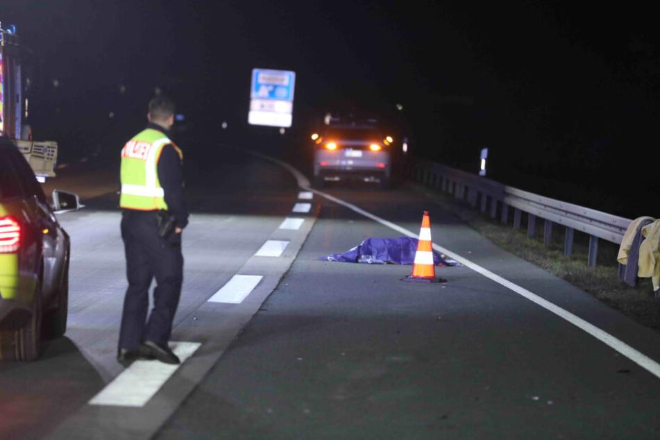 Der Unfallfahrer flüchtete, konnte wenig später von der Polizei gefunden werden.