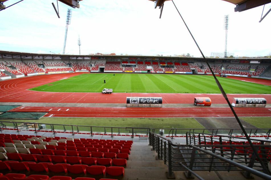 Das Steigerwaldstadion in Erfurt.