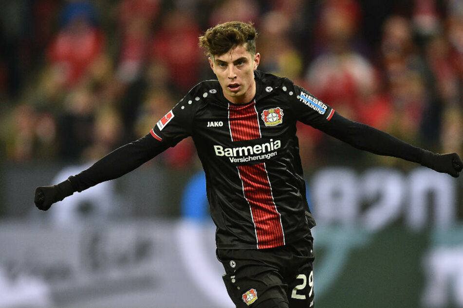 Kai Havertz von Bayer Leverkusen.