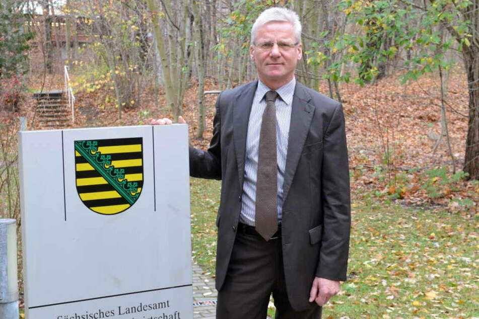 Norbert Eichkorn, Präsident des Landesamtes für Umwelt.