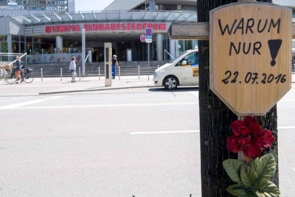 In München war es 2016 zu einem schrecklichen Amoklauf gekommen. (Archivbild)