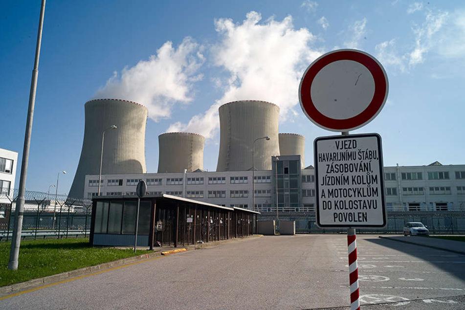 Das Kernkraftwerk in Temelin steht schon seit Jahren in der Kritik.