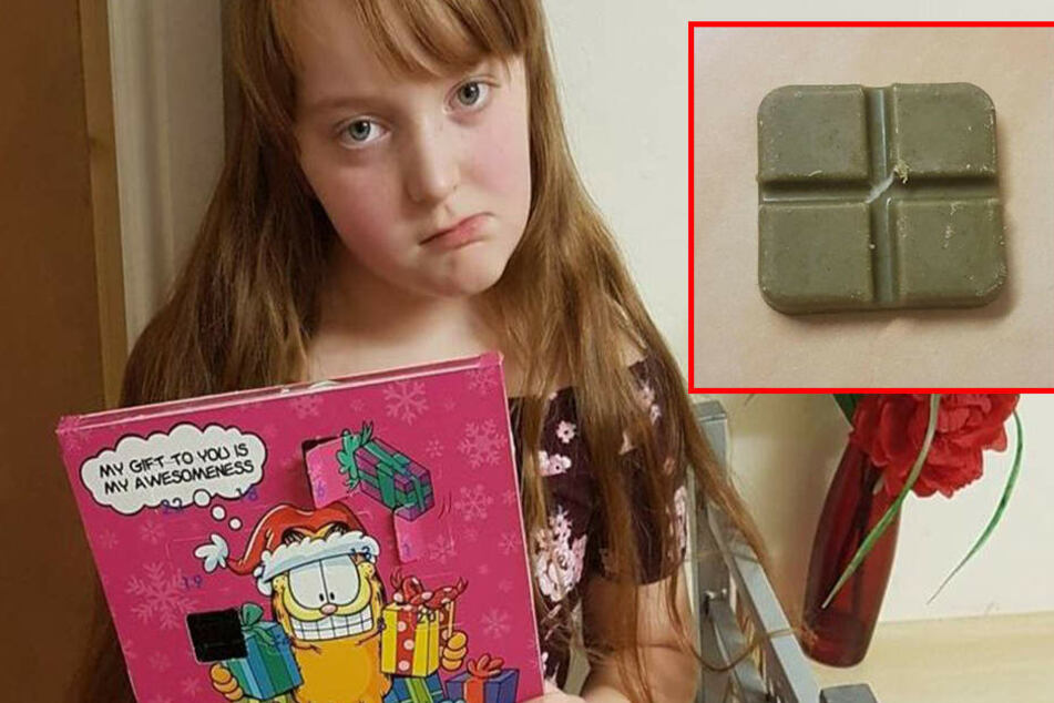 Neunjährige ist schockiert, als sie erfährt, was in ihrem Advenstkalender ist