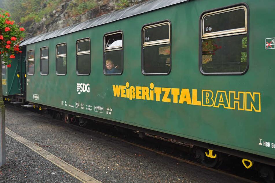 Wegen Bauarbeiten waren weniger Fahrgäste mit der Weißeritztalbahn unterwegs.