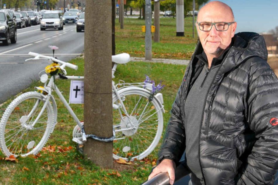 Dresden: Noch mehr Parkplatzärger! Sicherheitabstand für Radler bedroht Hunderte Autostellflächen