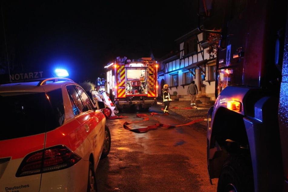 Frau stirbt bei verheerendem Wohnungsbrand