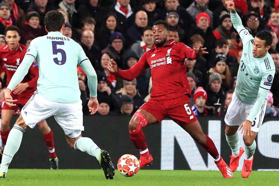 Der FC Bayern und der FC Liverpool lieferten sich ein kräfteraubendes Duell.