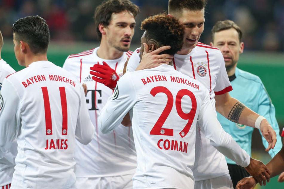 Die Bayern haben jetzt schon 18 Punkte Vorsprung auf den Tabellenzweiten.