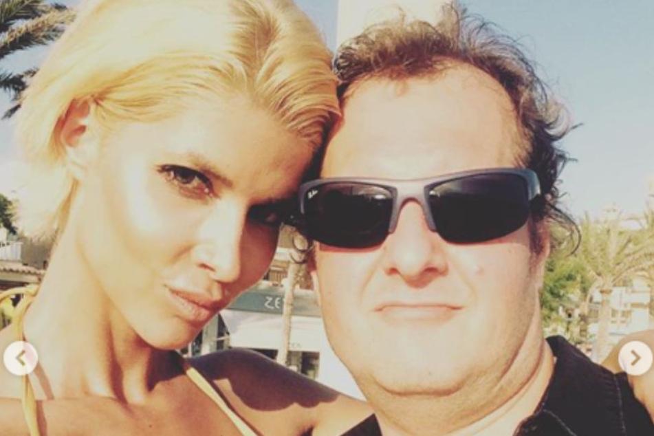 Micaela und Jens auf einem Selfie in Büchners Wahlheimat Mallorca.