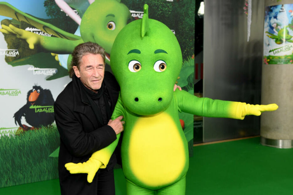 "Peter Maffay bei der Premiere des ""Tabaluga""-Films."