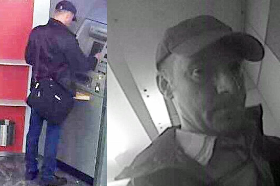 Mit diesen Fotos sucht die Polizei nach dem unbekannten Täter.