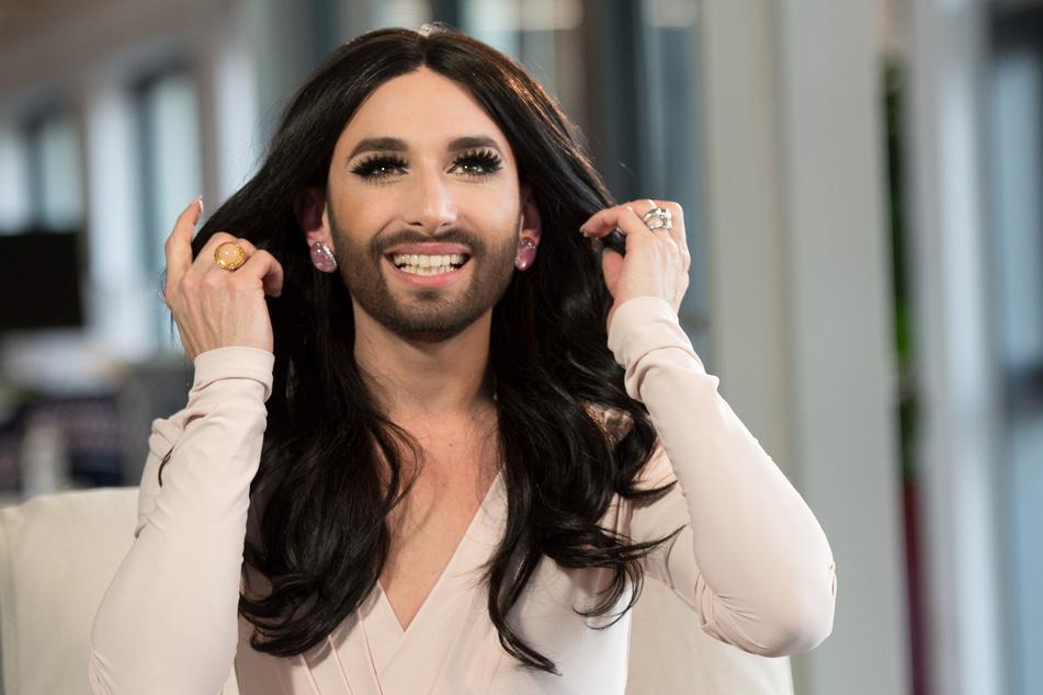 Conchita Wurst, Gewinnerin des Eurovision Song Contest (ESC) 2014.