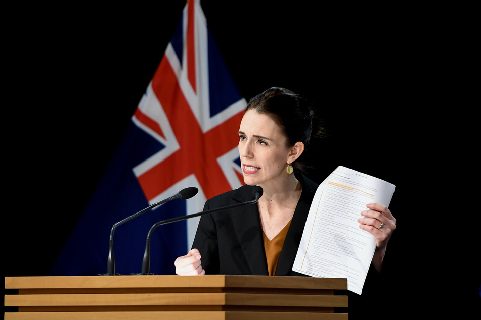 Jacinda Ardern, Premierministerin von Neuseeland.