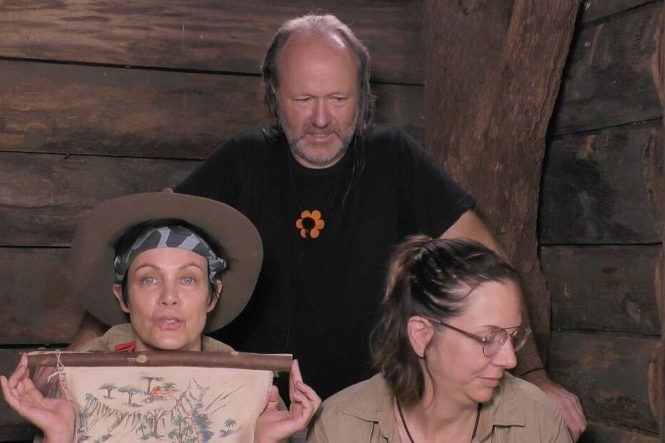 Im Dschungeltelefon eskalierte die Situation zwischen Markus, Sonja und Danni.