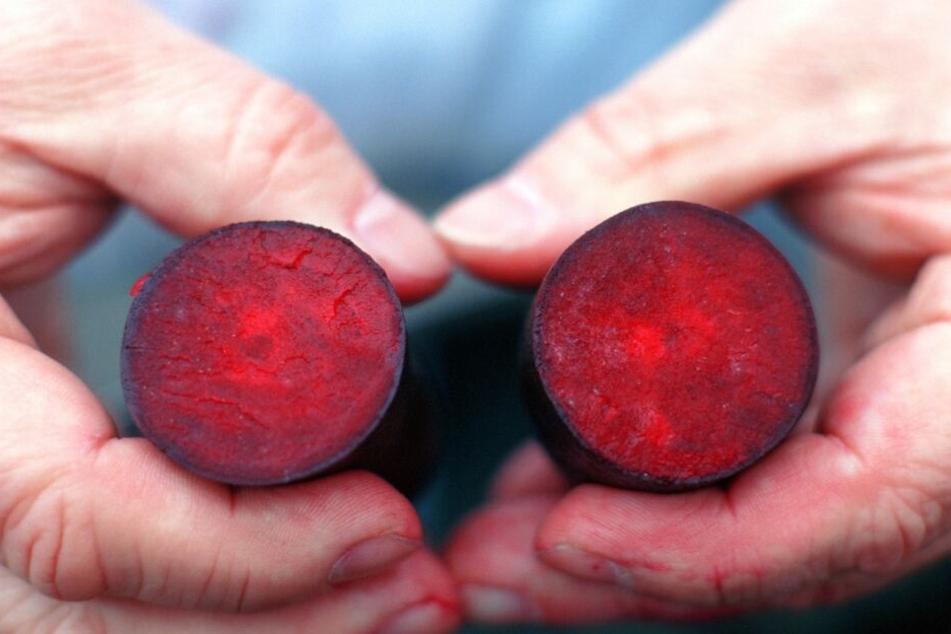 Rote Beete steckt voller Vitamine, Kalium und Eisen.