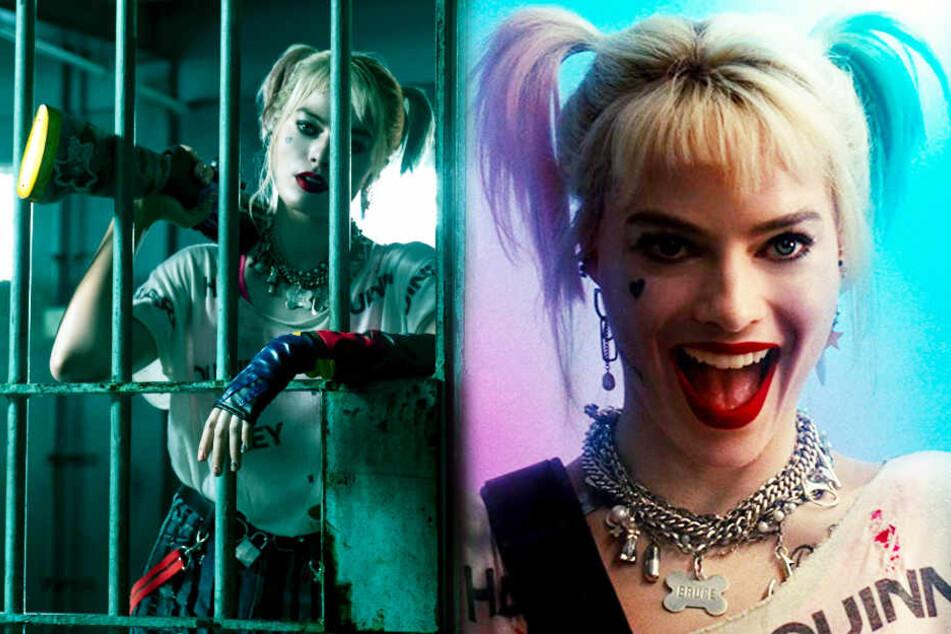 Margot Robbie begeistert in ihrer abgedrehten Rolle als Harley Quinn.