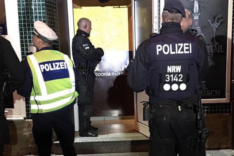 Kräfte des Zolls und der Stadt Leverkusen waren an den Maßnahmen ebenfalls beteiligt.