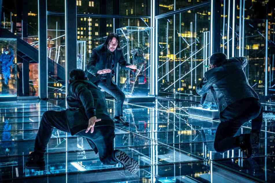 """John Wick: Kapitel 3 - Parabellum"" mit Keanu Reeves (M.) bietet Action satt!"