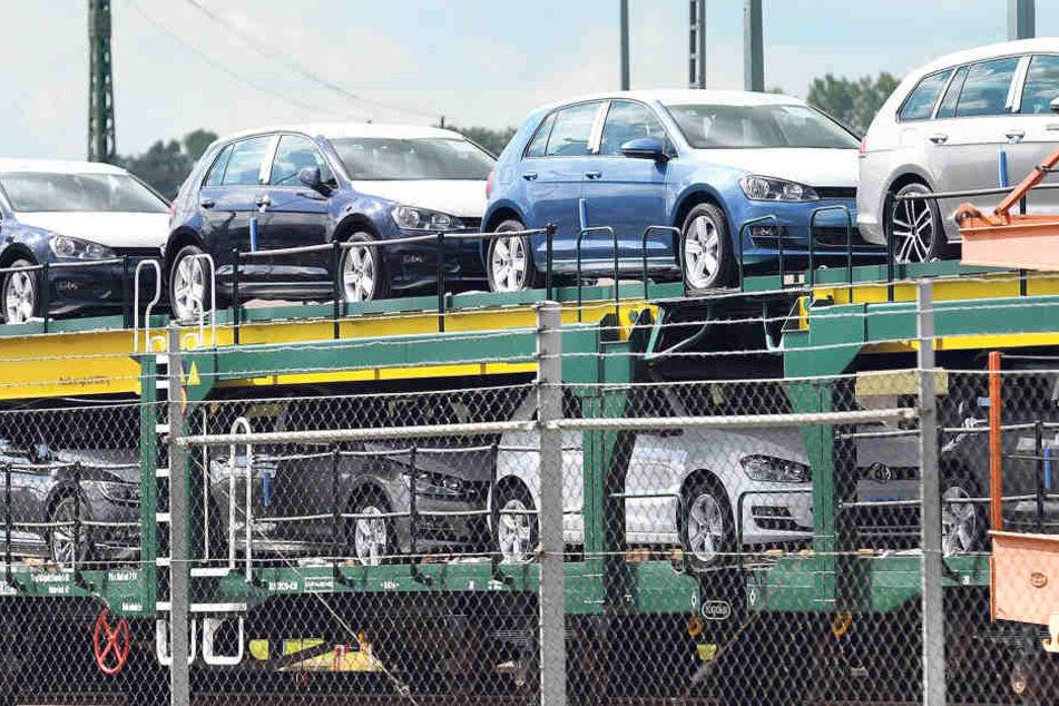 Für Sachsens Außenwirtschaft hängt viel vom Automobilbau ab und damit von VW. Der Konzern aber kann trotz zwischenzeitlicher Zulieferstopps und Dieselskandal beste Absätze vermelden.