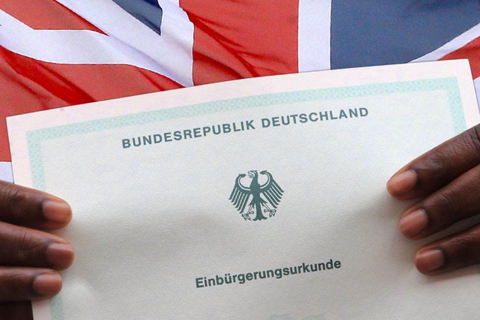 Die Einbürgerungsurkunder erhält man unter anderem, wenn man mindestens acht Jahre in Deutschland gelebt hat und die Sprache spricht. (Bildmontage)