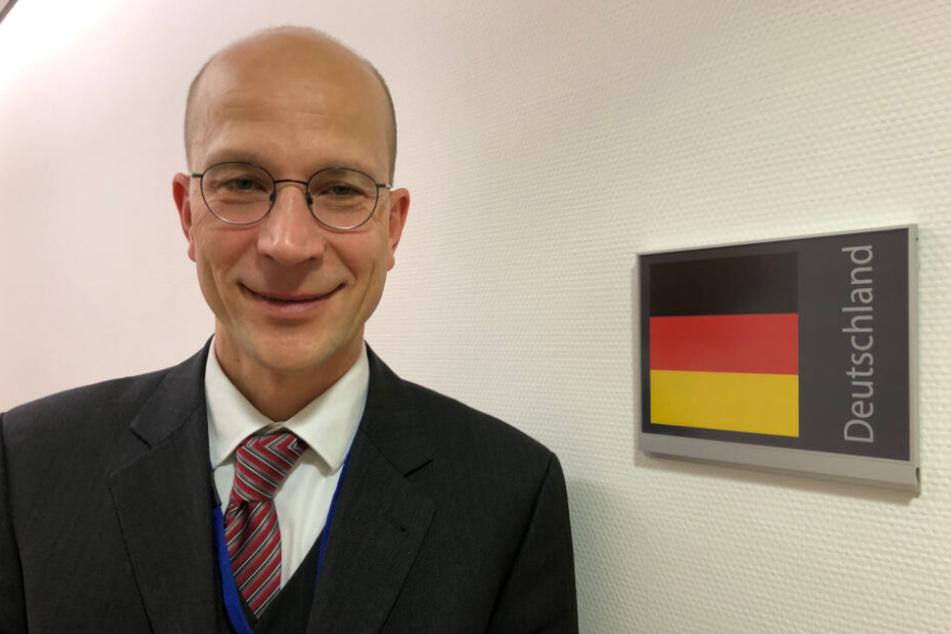 Große Aufgaben warten auf Andreas Peschke (50). Als Leiter der Europaabteilung des Auswärtigen Amts bereitet er die deutsche EU-Präsidentschaft vor.