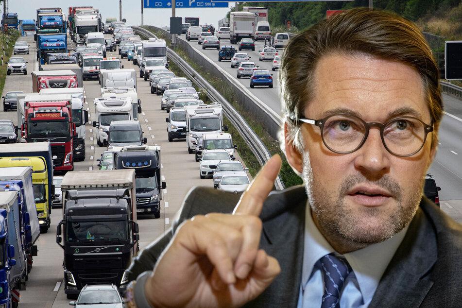 Mammutaktion in Sachsen: Verkehr wird im Freistaat gezählt
