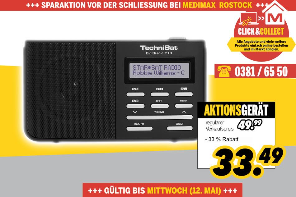 Digitradio210 von Technisat für 33,49 Euro