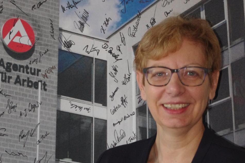 Reinhilde Willems (57), Arbeitsagentur-Geschäftsführerin der Regionaldirektion Sachsen, unterstützt die Zuschüsse für Ausbildungsbetriebe (Archivbild).