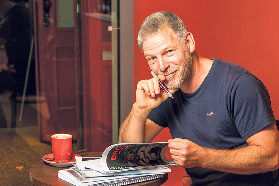 Autor Mario Sempf (51) gräbt schaurige Geschichten aus.