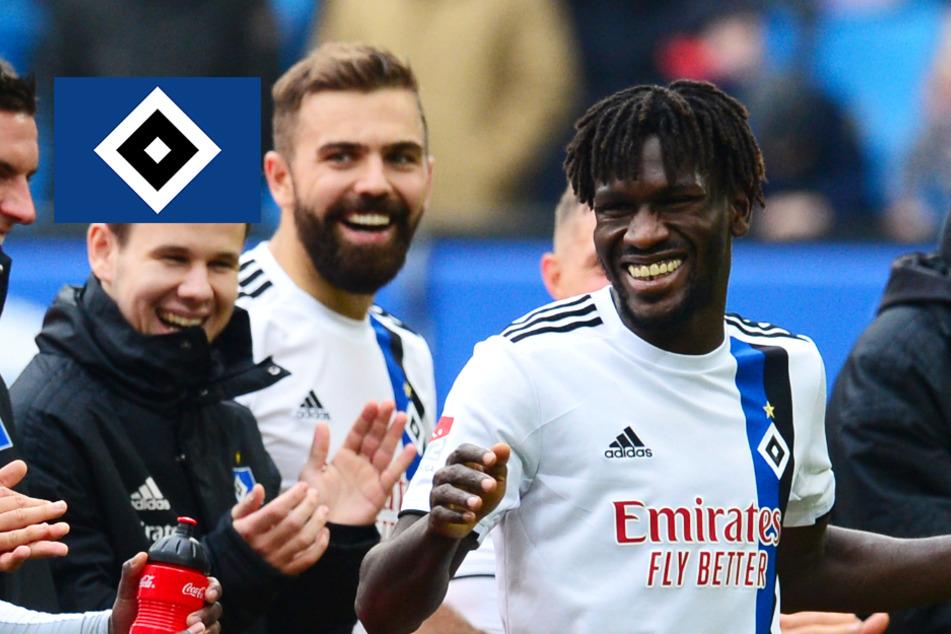 """""""Lächeln im Gesicht"""": Wie Bakery Jatta trotz aller Hürden beim HSV begeistert!"""