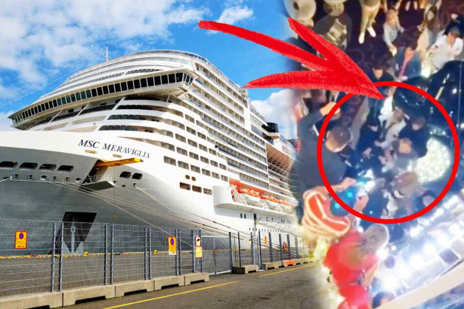 Angst vor Coronavirus führt zu Schlägerei auf Kreuzfahrtschiff