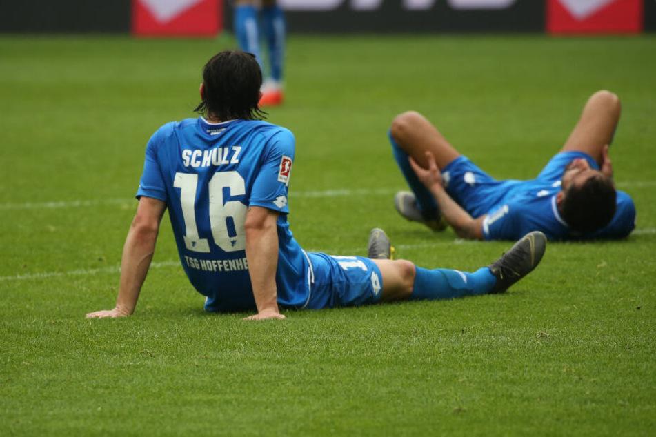 Verlassen beide Hoffenheim zur kommenden Saison und sind nach dem Abpfiff im Mainz am Boden zerstört: Nico Schulz (links im Bild) und Kerem Demirbay.
