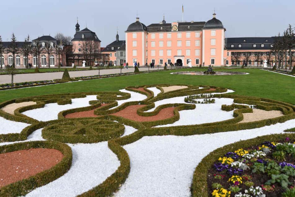 Das Schwetzinger Schloss.
