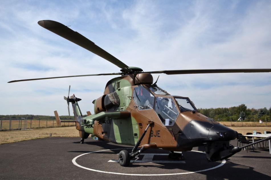 Ein Tiger-Hubschrauber von Airbus Helicopters. (Archivbild).